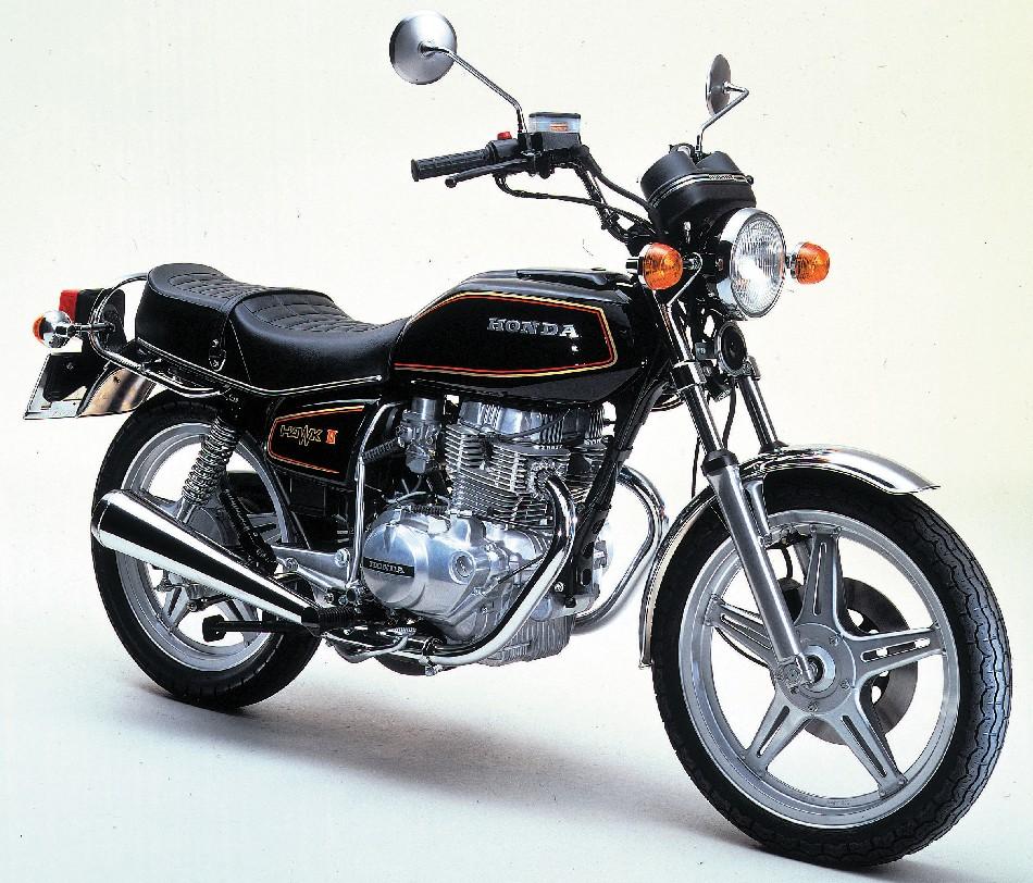 Vintage Motorcycle From 1980 Model Motorcycle Custom