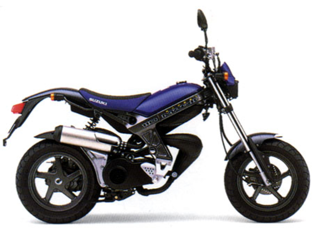 SUZUKI STREET MAGIC110
