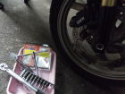 BMW R1200GS was equipped. It is damping force abso...