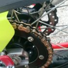 DID Super Non-seal Chain 520DZ2 Gold & Black [with Clip (RJ) Joint]