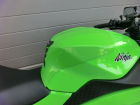 Installed on my 2014 Ninja250. Got a Lime Green Ge...