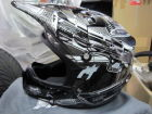 FOX V2 Helm Priori BLK / WHT