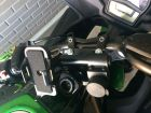 Smaho and USB power supply attachment to Ninja 400