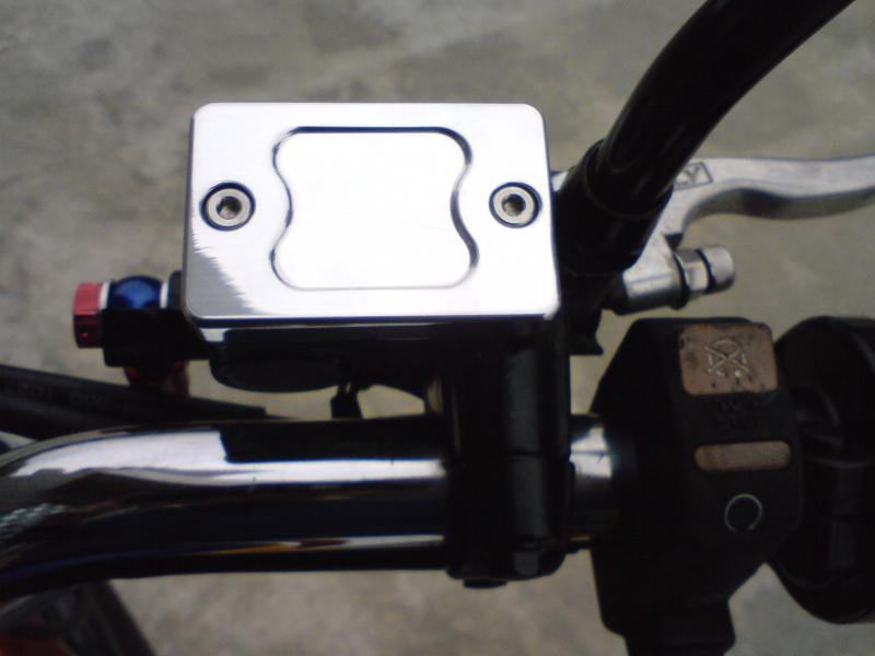 KITACO : Aluminum Master Cylinder Cap [524-0003010]