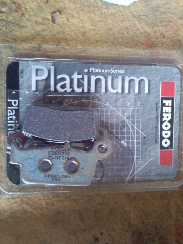 Platinum Brake Pads Platinum Compound