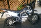 KLX 125 with Aluminum rims