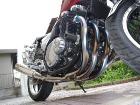 r's gear WYVERN Single Exhaust System Megaphone Type