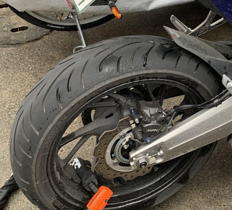 Bridgestone Battlax Sport Touring T31 GT Rear Motorcycle Tire for Yamaha FZ-09 2014-2017 180//55ZR-17 73W