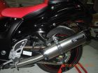 Two Brothers Racing V.A.L.E. Dual Slip-on Exhaust M2 Titanium Silencer