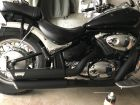 VANCE&HINES Twin Slash Staggered Black Full Exhaust System