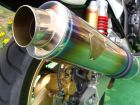 r's gear Wyvern Single Type Exhaust System
