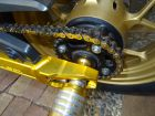 DID SUPER Non-Seal Chain 420NZ3 Gold [with Clip (R) Joint]