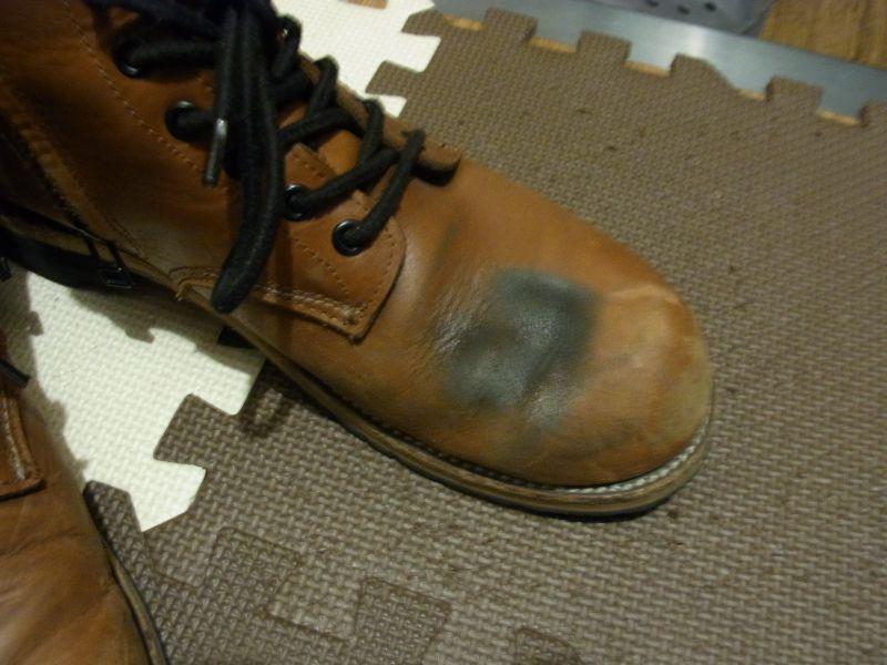 Buggy : Zip Up Work Boots [BR-084]