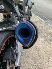 R&G AKRAPOVIC (Hexagonal) Exhaust Protector [(Can Cover)]