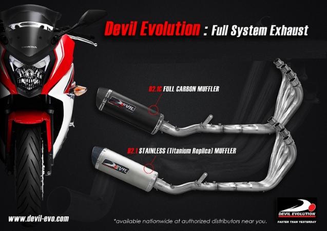 DEVIL EVOLUTION x HONDA CB650F - Webike